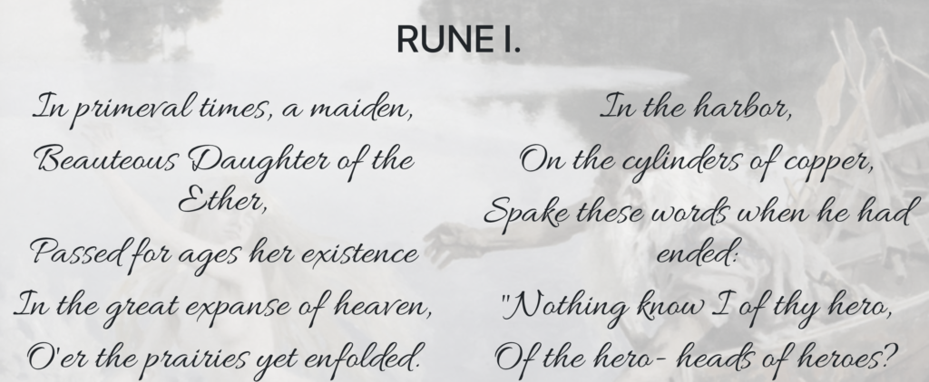 ai poem rune