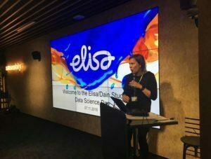 Saara Opening Words @Elisa